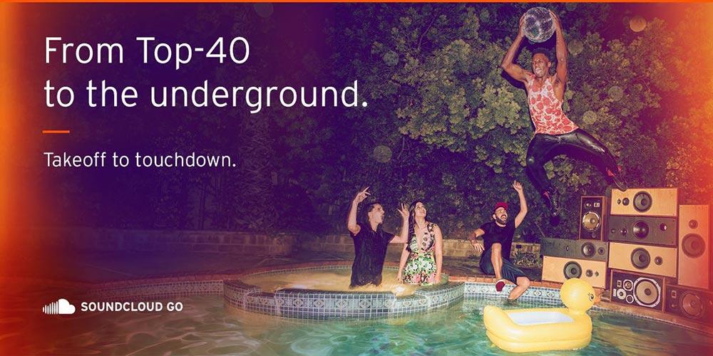 SoundCloud Go Soundcloud lance un abonnement payant sans publicité avec lecture hors ligne