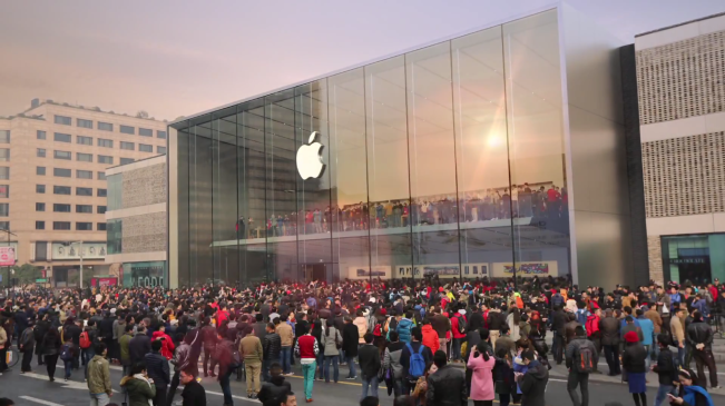 apple chine e1457607046500 Chine : la croissance dApple commence à ralentir