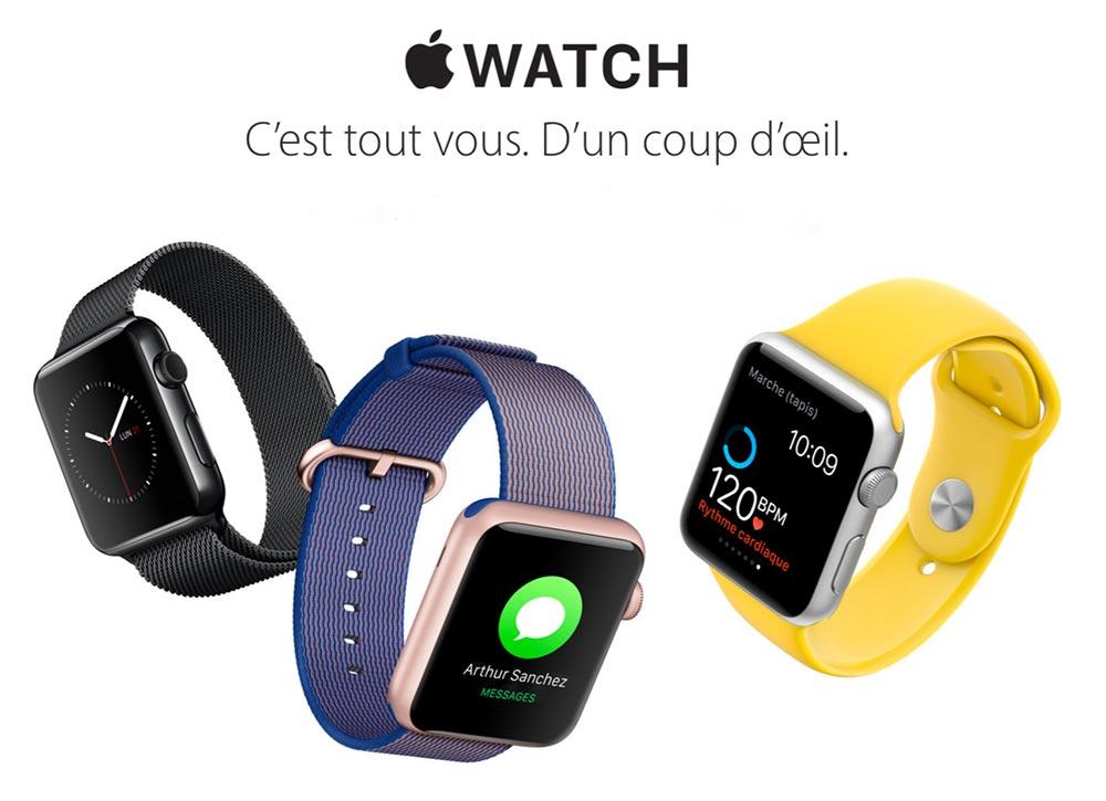apple watch 2016 LApple Watch perd des parts de marché face aux smartwatches Android Wear