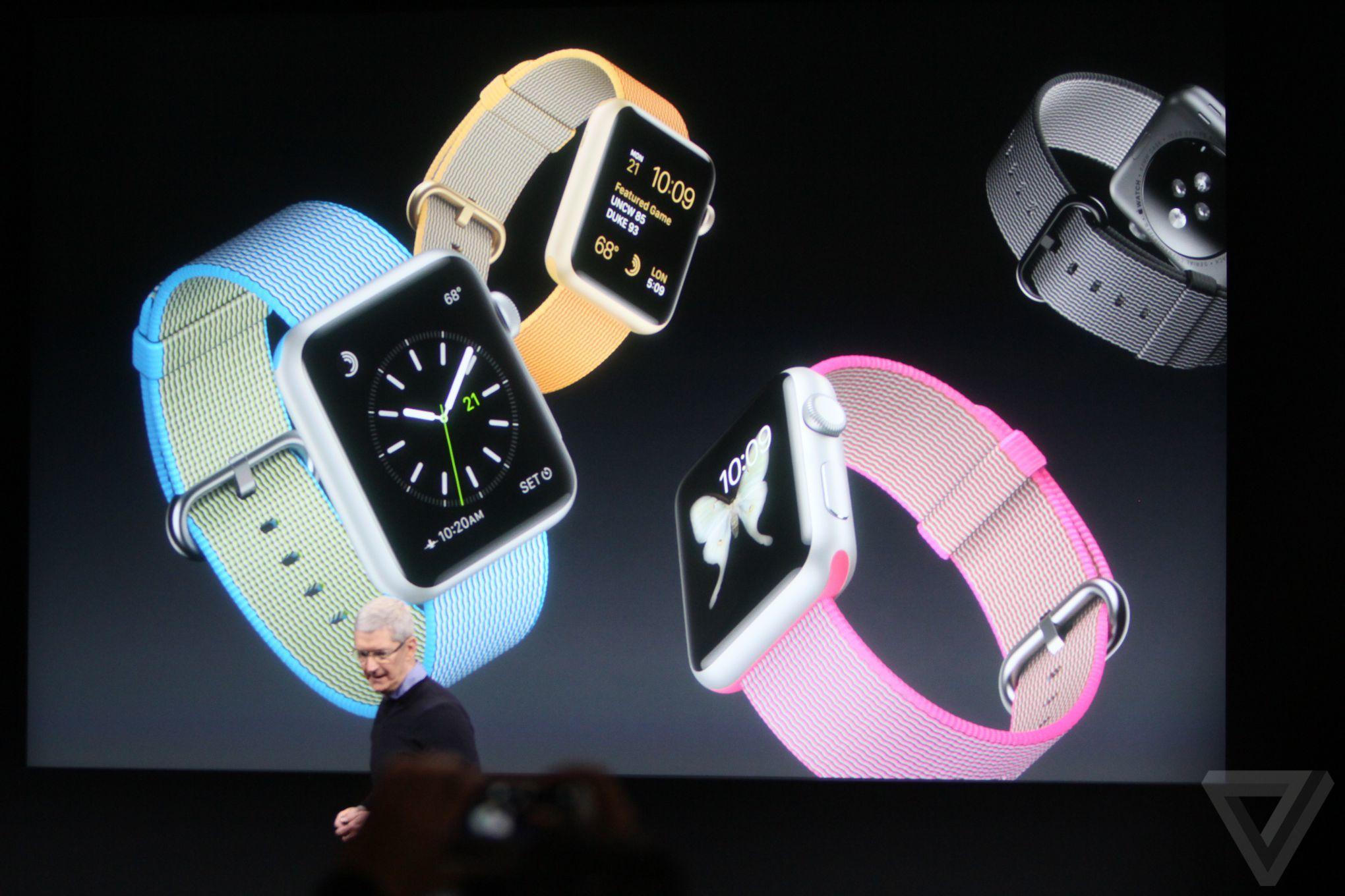 apple watch nylon Bilan keynote Let Us Loop You In : iPhone SE, iPad Pro 9,7 pouces...