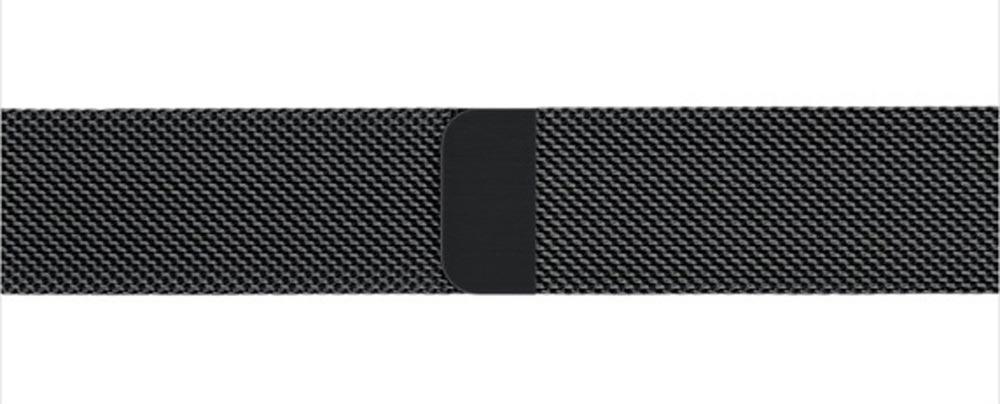 bracelet milanais noir Les nouveaux bracelets Apple Watch disponibles au retrait en magasin