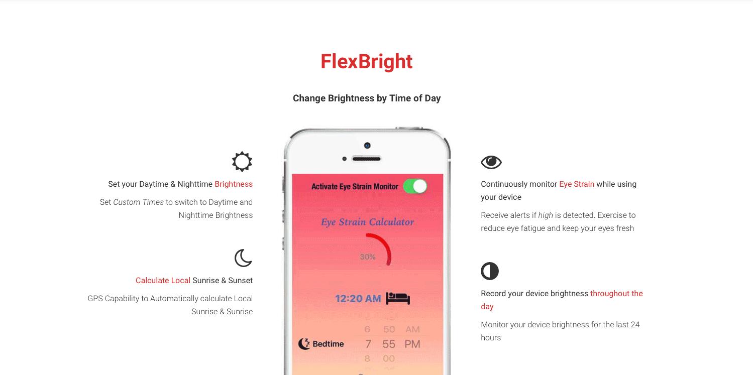 flex bright FlexBright : un Night Shift pour iOS 9.2 !