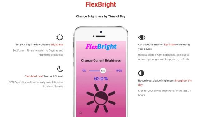 flexbright e1457613316301 Flexbright : lapplication qui copie Night Shift est finalement interdite