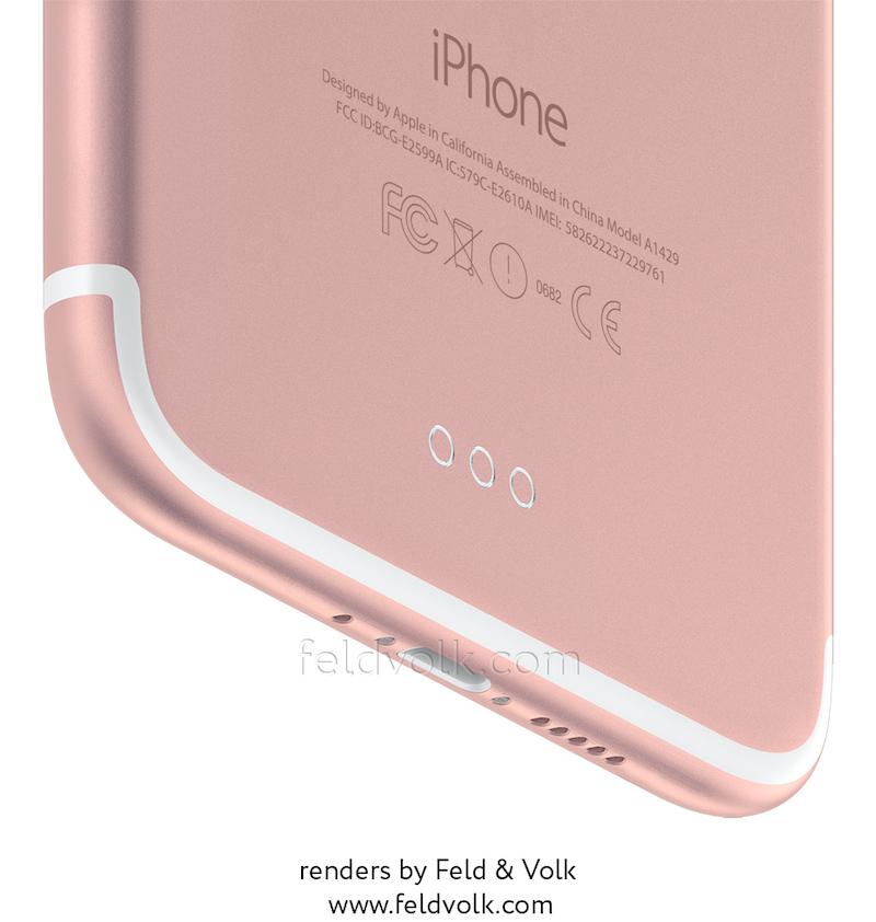 fv iphone 7 render bottom Première photo de liPhone 7 à double objectif en fuite !
