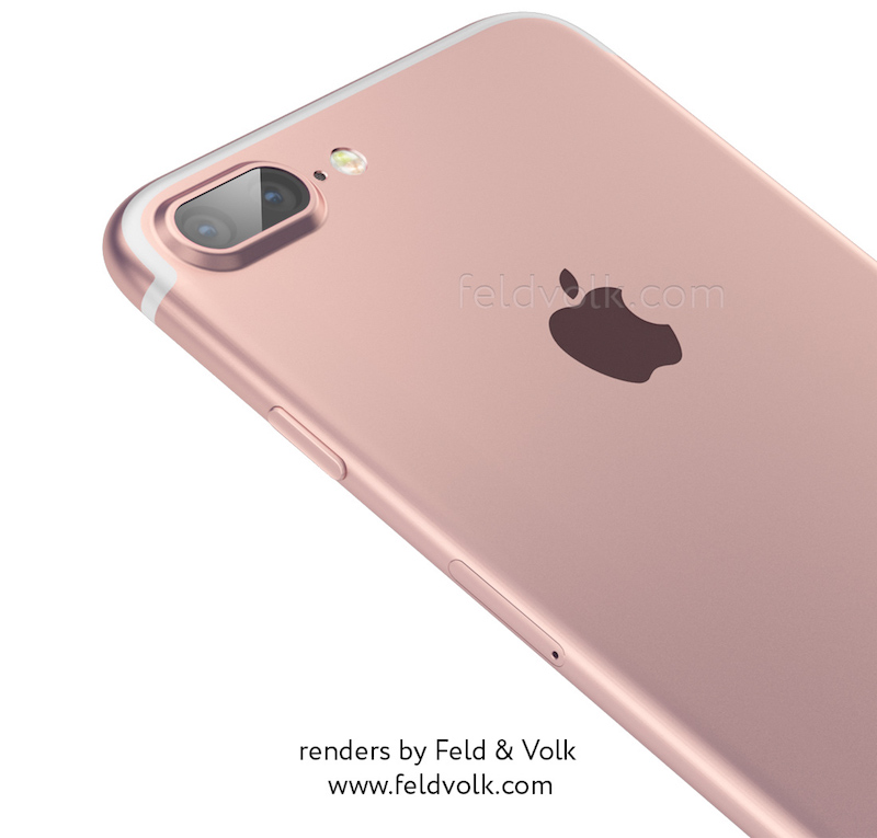 fv iphone 7 render top Première photo de liPhone 7 à double objectif en fuite !