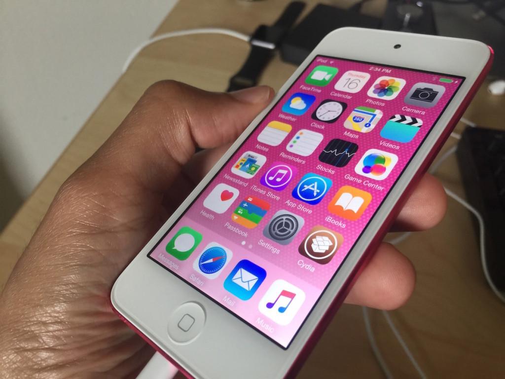 iPod touch 6th gen jailbreak cydia 1024x768 iOS 9.3 bêta 5 comblerait des failles permettant un jailbreak