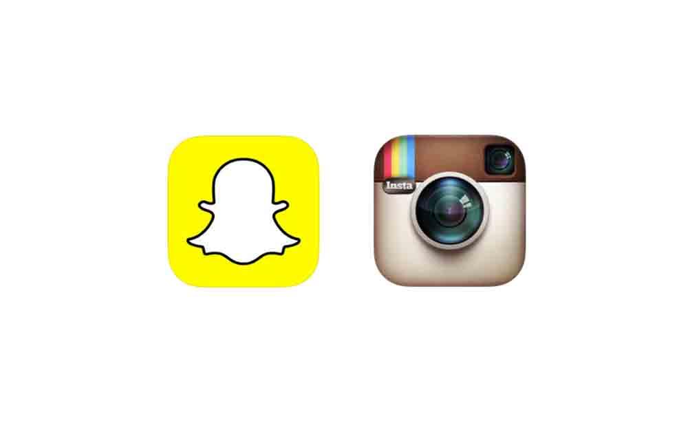 instagram snapchat SnapChat et Instagram se mettent à jour avec quelques nouveautés