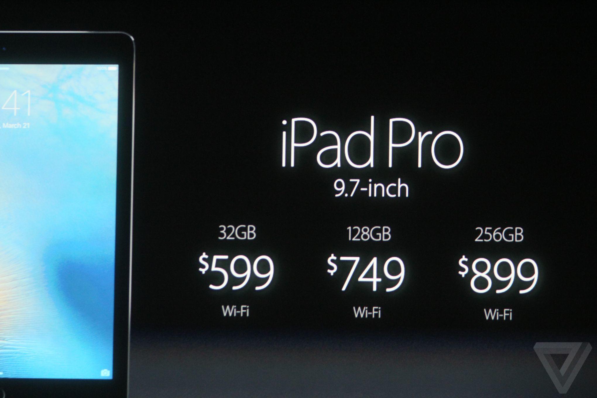 ipad pro prix Bilan keynote Let Us Loop You In : iPhone SE, iPad Pro 9,7 pouces...