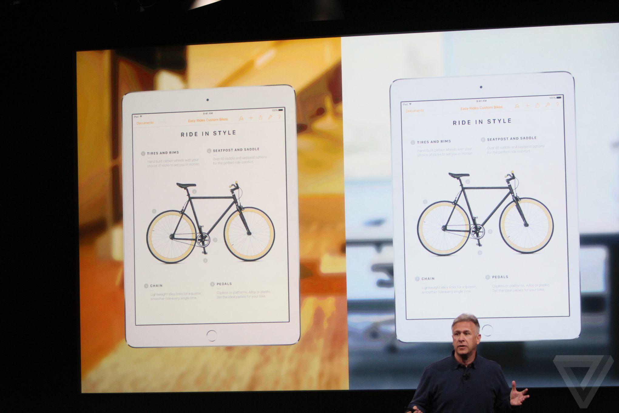 ipad pro true tone display Bilan keynote Let Us Loop You In : iPhone SE, iPad Pro 9,7 pouces...