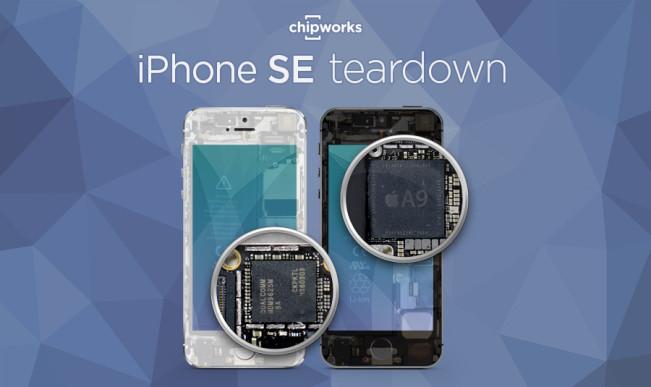 iphone se teardown e1459411109823 LiPhone SE reprend les composants des iPhone 5s, 6 et 6s