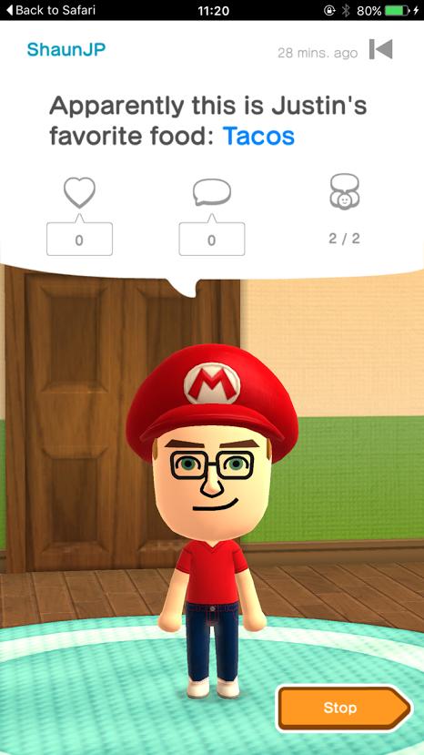 miitomo screenshot Le premier jeu iOS de Nintendo Miitomo disponible au Japon