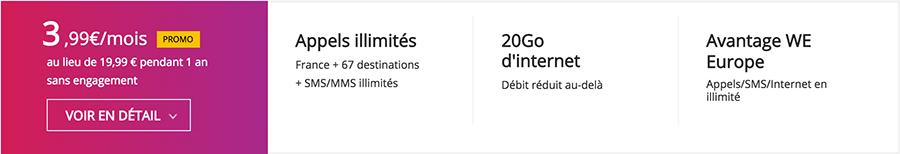 offre virgin mobile 399 pendant un an 3,99€ par mois pendant un an chez Virgin mobile, Free et Bouygues Telecom !