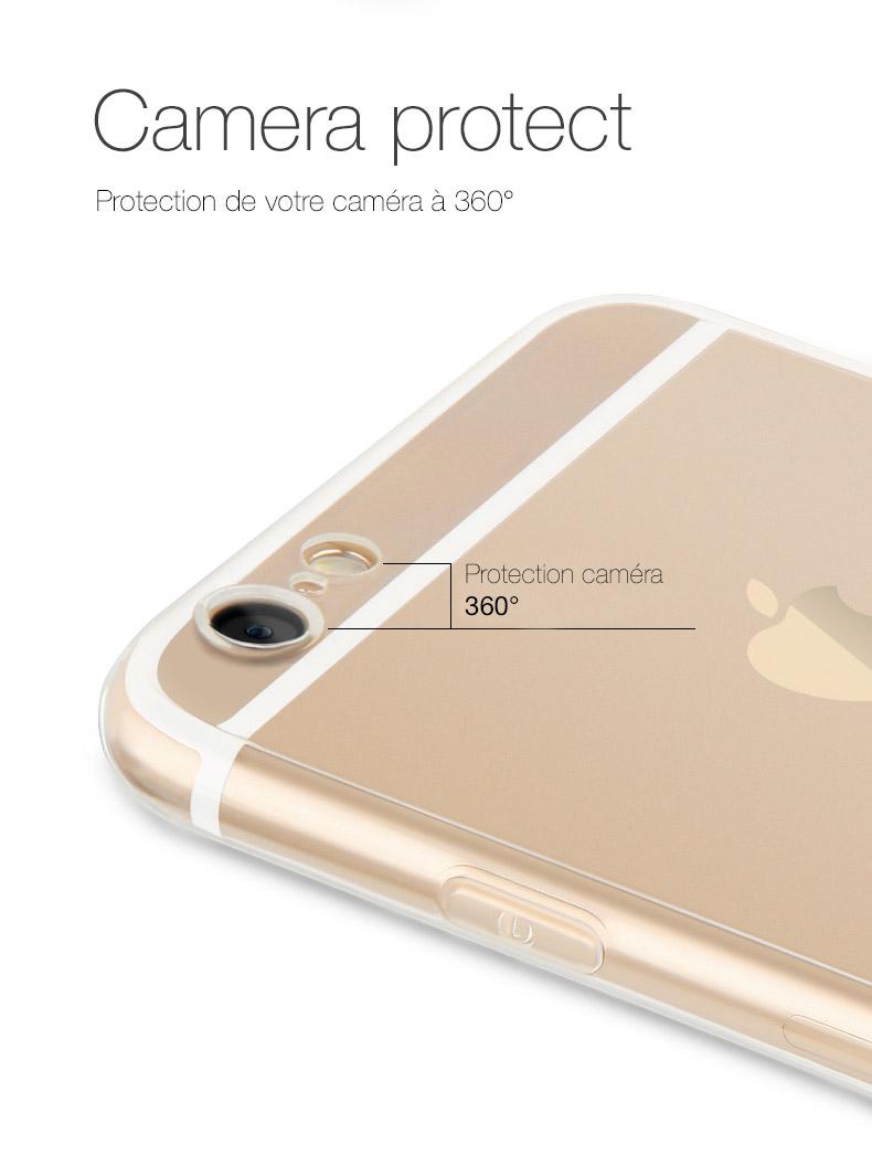 pic1 Coque Invisible X Ultra Fine iPhone 7, 8 & 7, 8 Plus avec protection décran