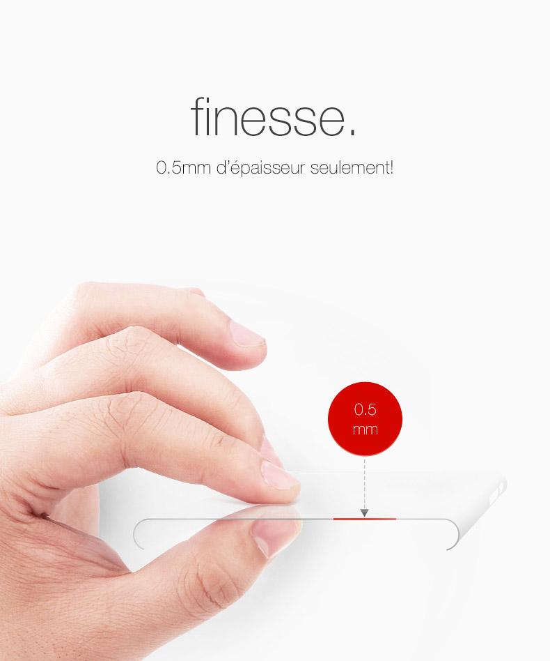 pic3 Coque Invisible X Ultra Fine iPhone 7, 8 & 7, 8 Plus avec protection décran