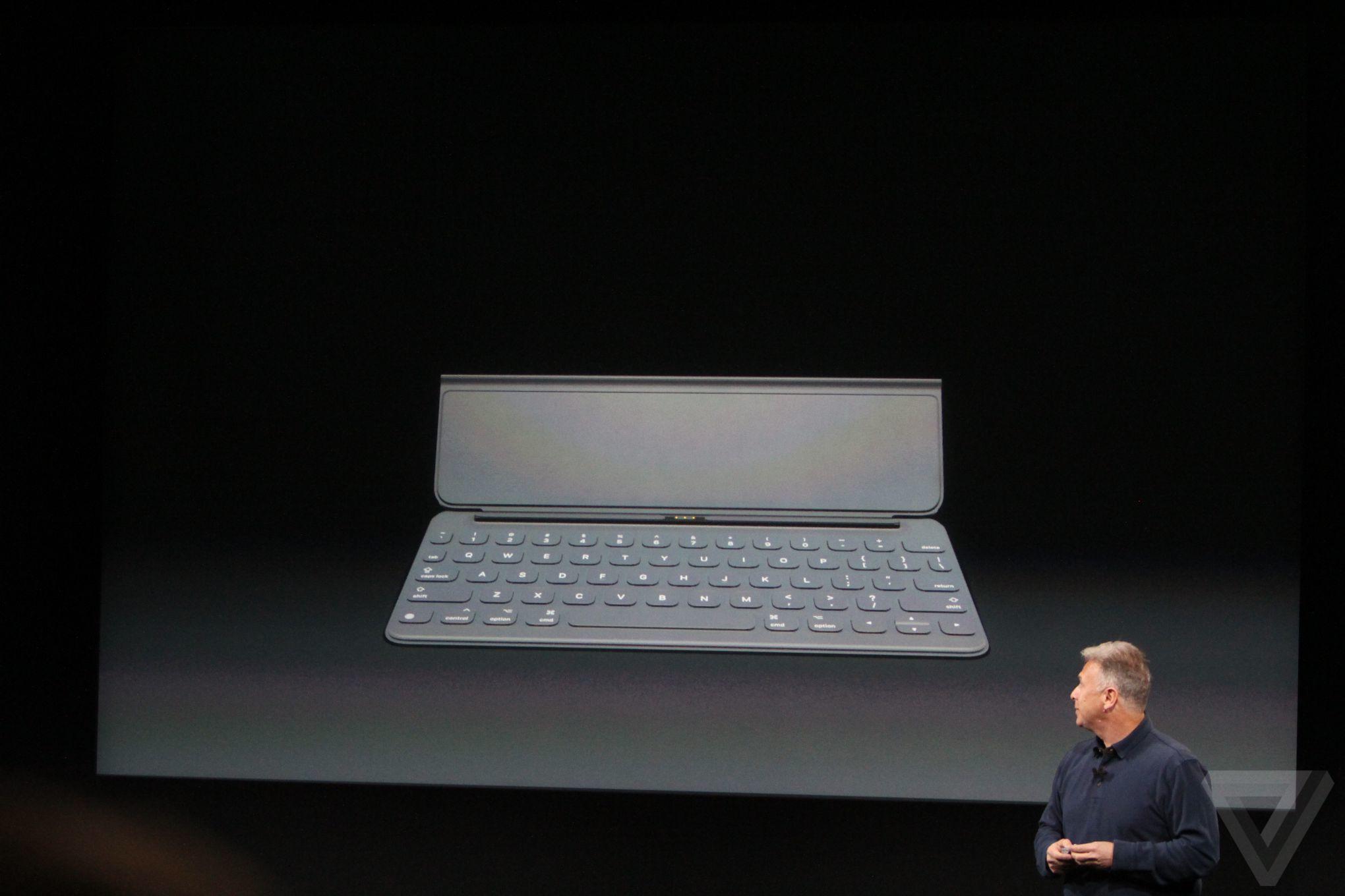 smart keyboard Bilan keynote Let Us Loop You In : iPhone SE, iPad Pro 9,7 pouces...