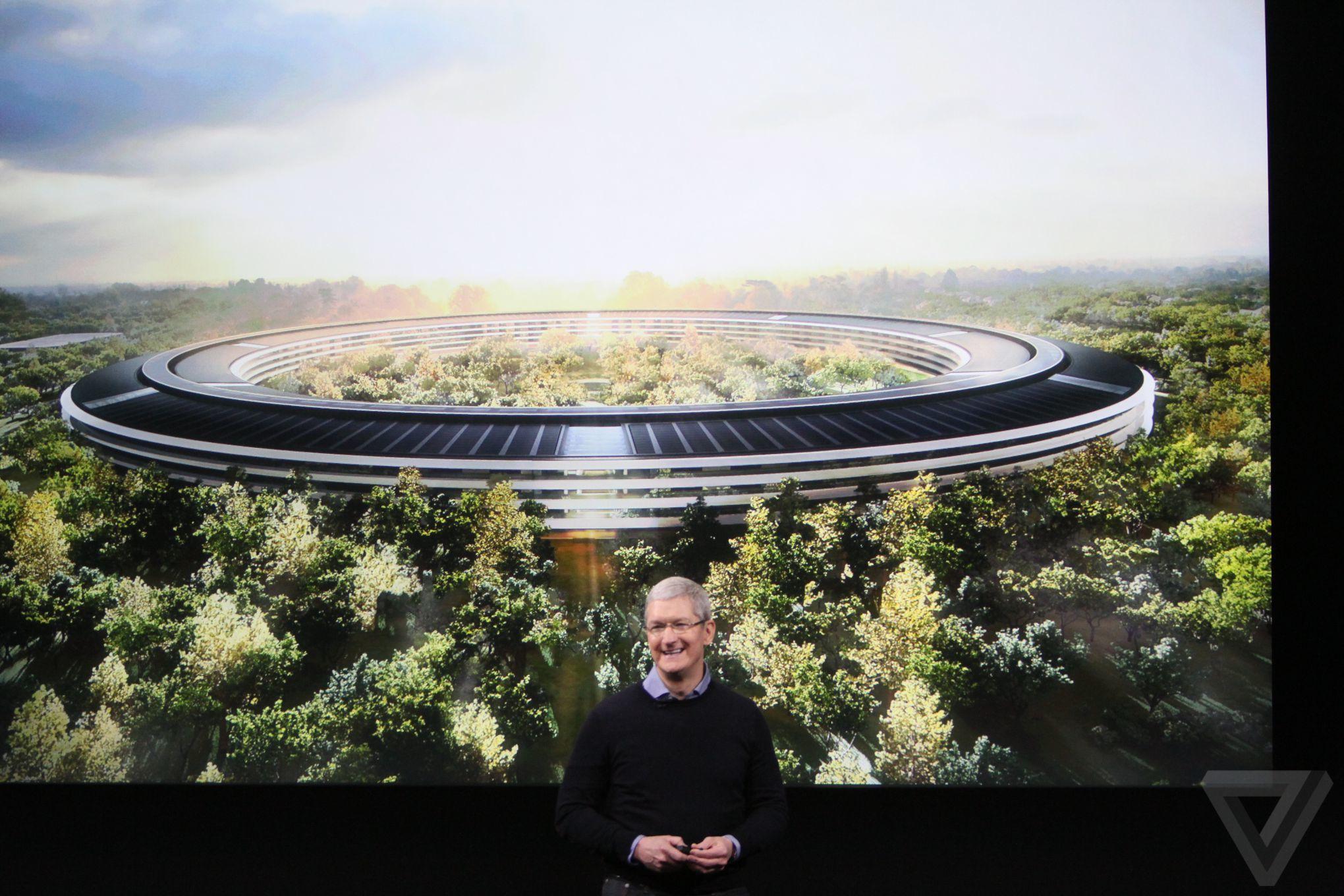 spaceship Bilan keynote Let Us Loop You In : iPhone SE, iPad Pro 9,7 pouces...
