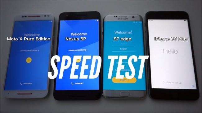 speed test iphone 6s e1457352151882 Vidéo : liPhone 6s Plus est plus rapide que le Galaxy S7