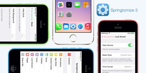 springtomize3 tweak cydia 500x250 Cydia : Springtomize 3 est compatible iOS 9.3.3