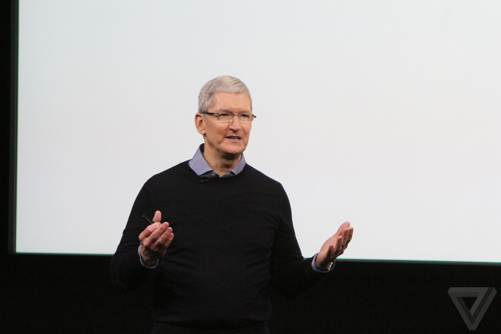 tim cook keynote Bilan keynote Let Us Loop You In : iPhone SE, iPad Pro 9,7 pouces...