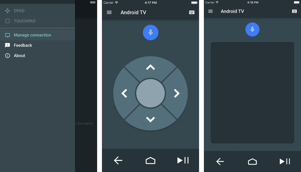 Android TV iOS Google sort une application iOS pour contrôler son Android TV
