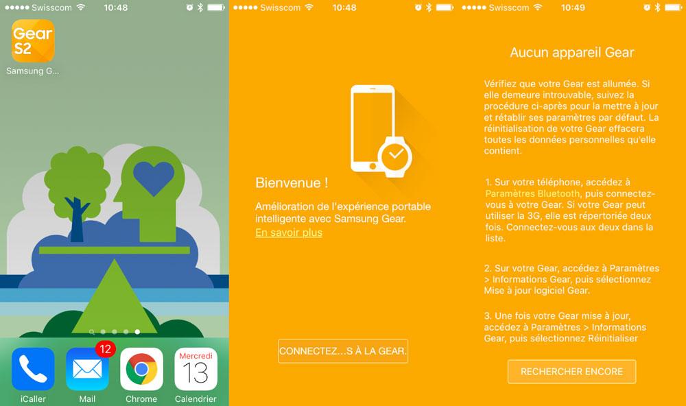 app ios samsung gear s2 Une application iOS pour la Samsung Gear S2 bientôt disponible ?