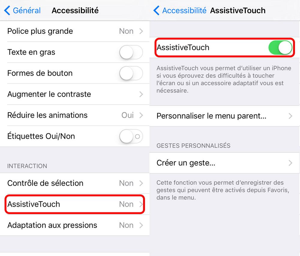 assistive touch reglages ios 9 [Tutoriel] Comment complètement désactiver les animations iOS sans jailbreak
