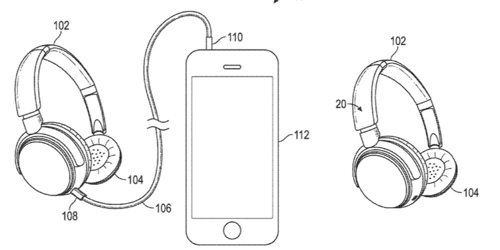 brevet casque Apple dépose un brevet pour un casque audio passant de filaire à sans fil