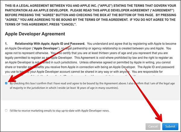 cgu compte developpeur apple gratuit [Tutoriel] Comment créer un compte développeur Apple gratuit