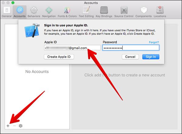 configurer xcode compte developpeur apple identifiant [Tutoriel] Comment créer un compte développeur Apple gratuit