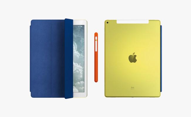 ipad pro e1460958274697 Jony Ive présente un iPad Pro jaune exclusif pour une vente aux enchères