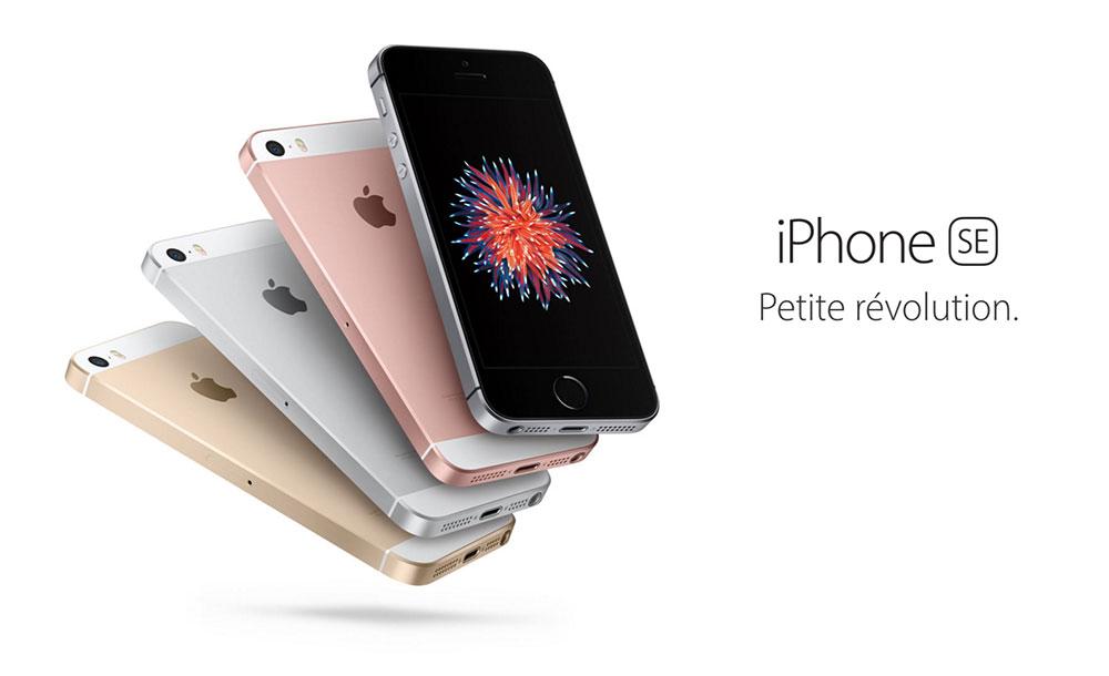iphone se petite revolution 4 pouces iPhone SE : de fortes ventes suggèrent une hausse globale des ventes diPhone en 2016
