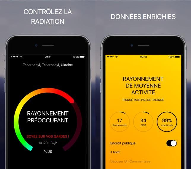 Ray detect une application ios qui vous permet de mesurer la radioactivit - Appareil de mesure radioactivite ...