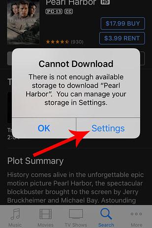 stockage 2 Astuce : augmenter lespace de stockage de liPhone de quelques Ko