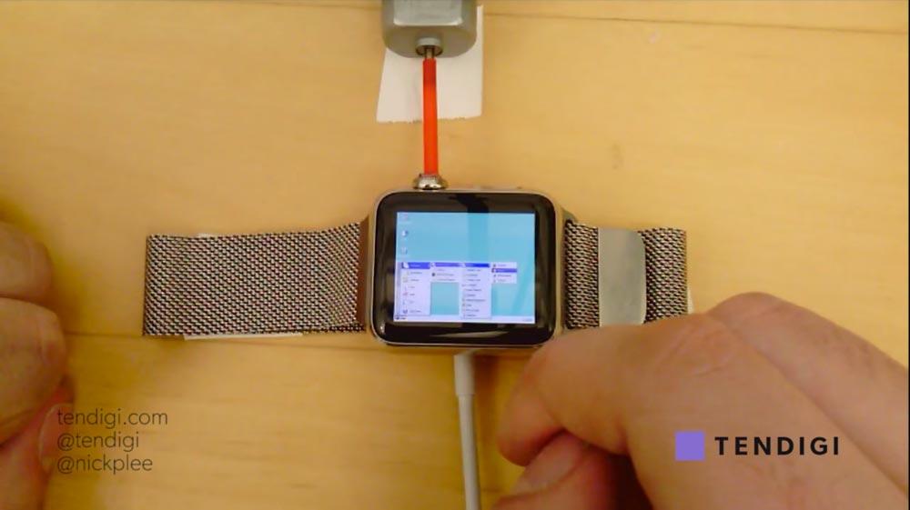 apple watch windows 95 [Vidéo] LApple Watch peut tourner sous Windows 95 !