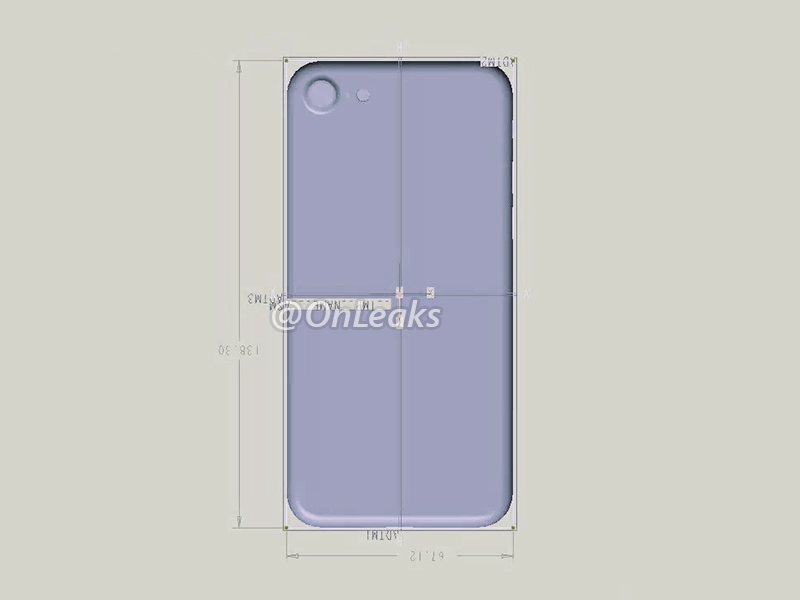 dimensions iphone 7 iPhone 7 : une nouvelle photo confirme certaines rumeurs...