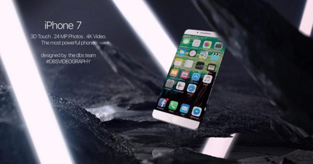 iphone 7 dbs e1463148588382 [Vidéo] iPhone 7 : le concept qui ressuciterait Apple