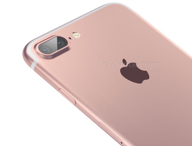 iphone 7 render top iPhone 7 : 32 Go de stockage et 2 Go RAM pour lentrée de gamme