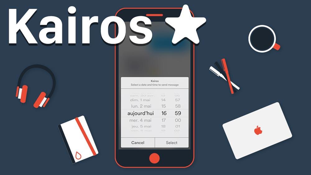 kairos tweak [Cydia] Kairos : programmer lenvoi de SMS ou diMessages