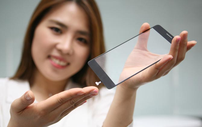 lg capteur empreinte integre ecran LG rend techniquement possible lintégration du Touch ID à lécran de liPhone !