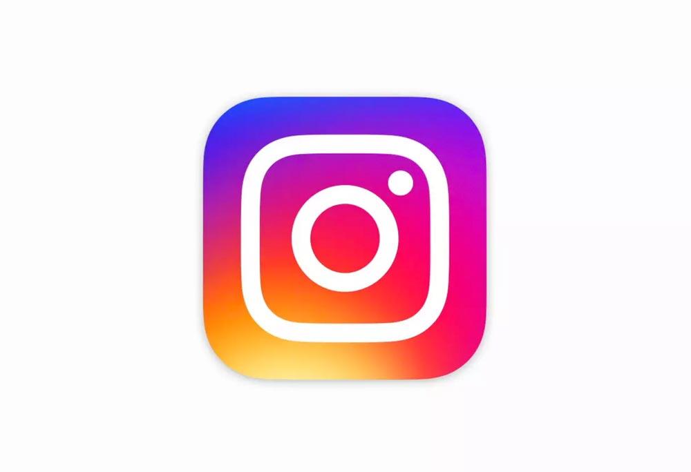 logo instagram flat