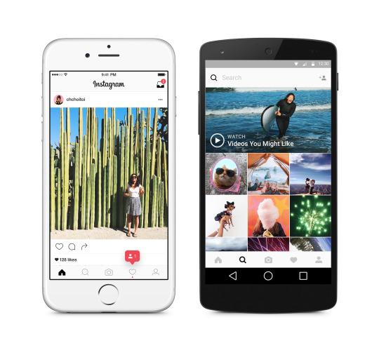 nouvel UI instagram Instagram passe enfin au flat design et soffre une nouvelle interface utilisateur