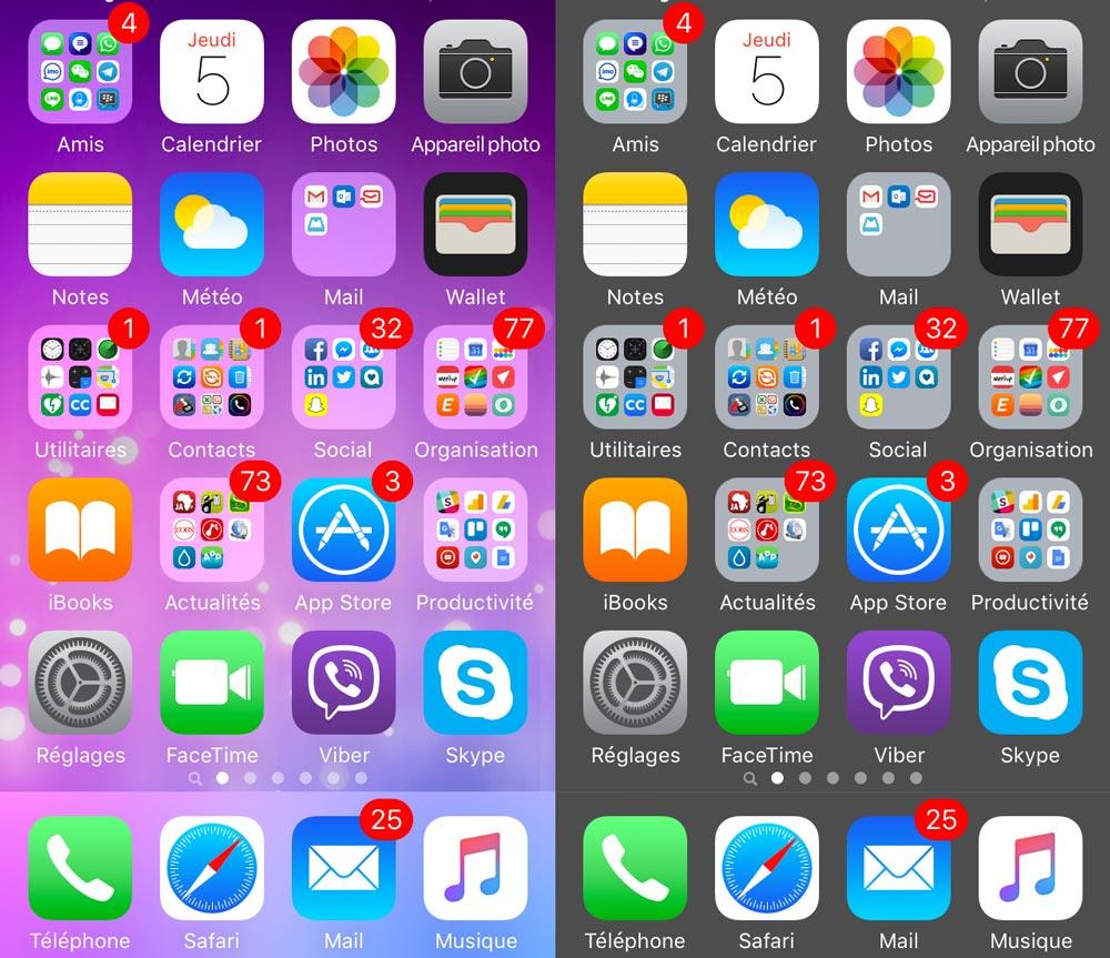 supprimer dock ios ecran daccueil [TUTO] Comment effacer le dock iOS de lécran daccueil sans jailbreak