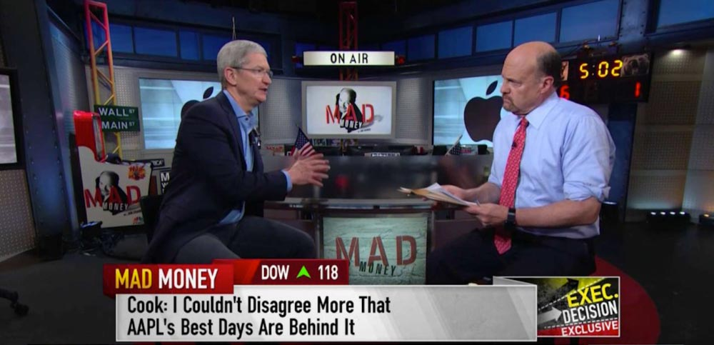 tim cook interview cnbc Tim Cook promet de grandes innovations pour les futurs iDevices