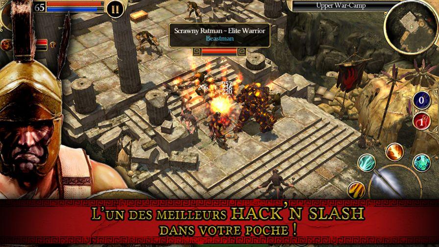 titan quest [Vidéo] Le hack and slash Titan Quest est disponible sur iOS