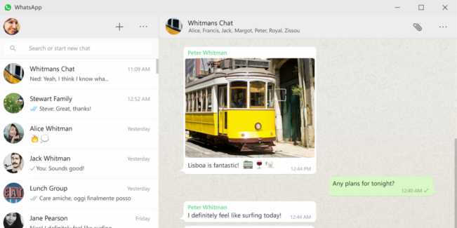 whatsapp e1462967314113 WhatsApp est disponible sur Mac et Windows