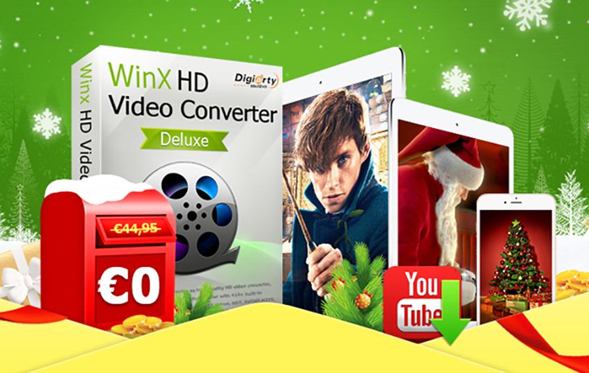 winx WinX HD Video Converter Giveaway (Win/Mac) : Le Meilleur Convertisseur Vidéo