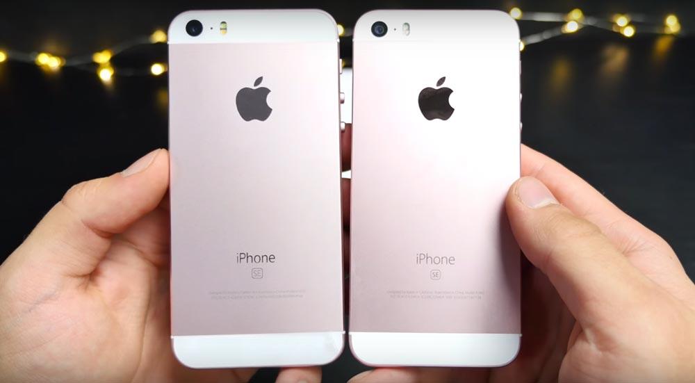 clone iphone se [Vidéo] Un clone chinois de liPhone SE à 50 $