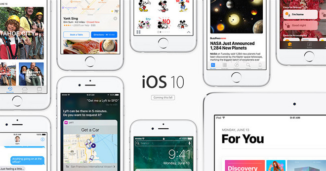 iOS 10 coming soon iOS 10 : Apple confirme que le non chiffrement du kernel est voulu