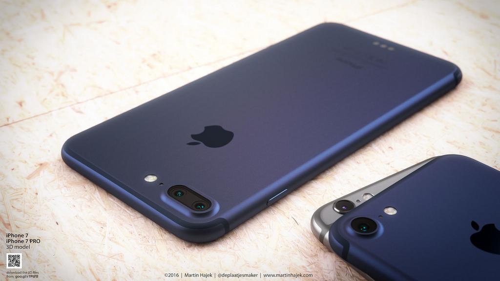 iphone 7 bleu fonce 4 iPhone 7 : la puce A10 dévoilée dans une photo ?