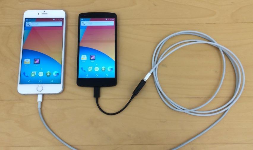 iphone nexus 5 android Insolite : une coque et une app pour faire tourner Android sur iPhone